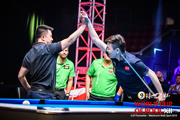 2018 World Cup of Pool DAY 6 - Winner China A