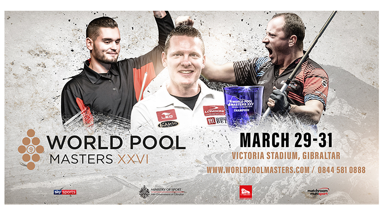 2019 World Pool Masters returns to Gibraltar 777x437