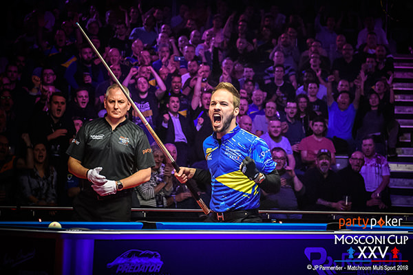 2018 Mosconi Cup - Day 2 Albin Ouschan