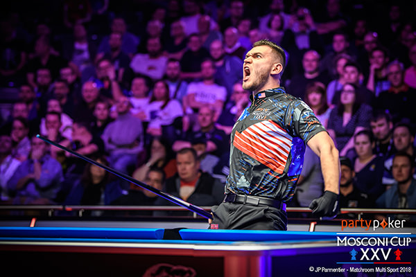 2018 Mosconi Cup - Day 2 Billy Thorpe