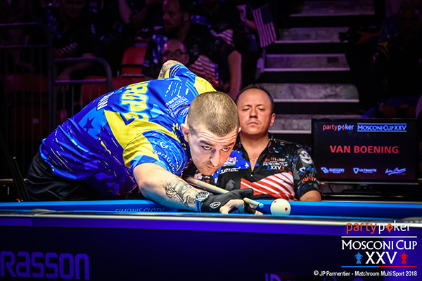 2018 Mosconi Cup - Day 2 Jayson Shaw