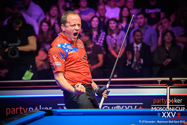 2018 Mosconi Cup - Day 4 Shane Van Boening