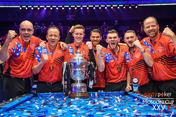 2018 Mosconi Cup - Day 4 Team USA Wins