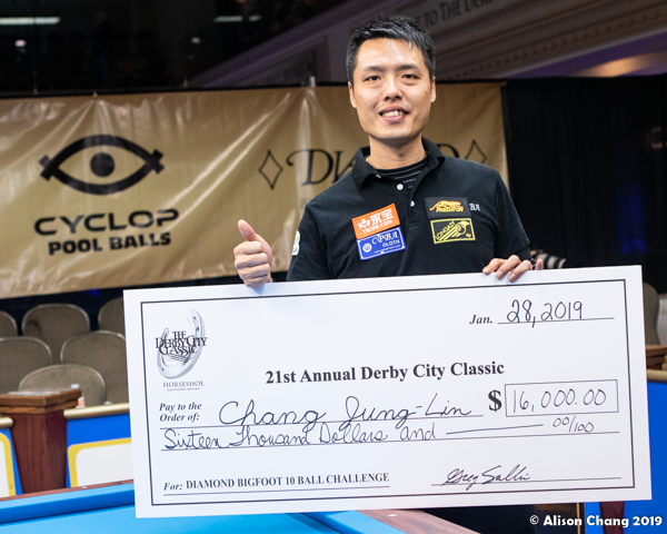 2019 Derby City Classic - BIG Foot Challenge _ Jung-Lin Chang Awards