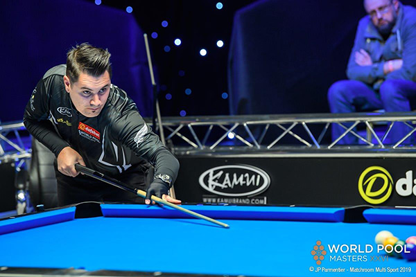 2019 World Pool Masters XXVI DAY 1 - Matt Edwards (NZL)