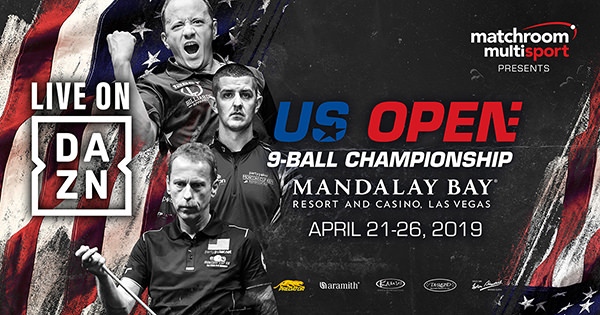 2019 US Open 9-Ball Championship - Live on DAZN Across America
