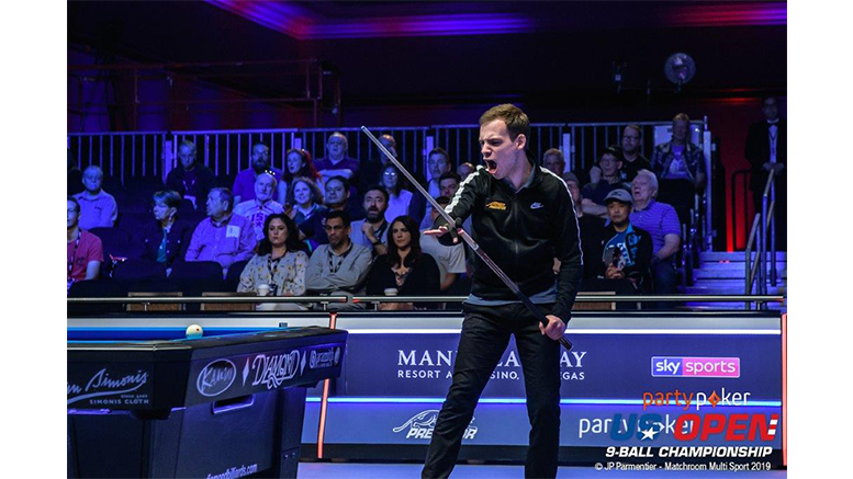 2019 US Open 9-Ball Championship - Last 16 Joshua Filler defeated Jayson Shaw 777x437