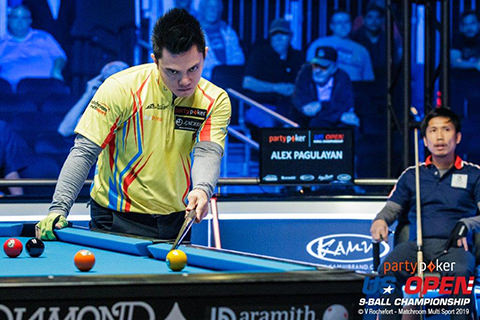 2019 US Open 9-Ball Championship - QF Jeff De Luna