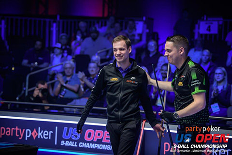 2019 US Open 9-Ball Championship - QF Joshua Filler and Francisco Sanchez-Ruiz