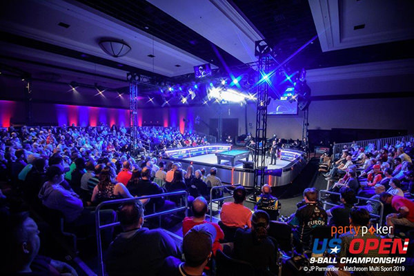 2019 US Open 9-Ball Championship - Final TV table arena