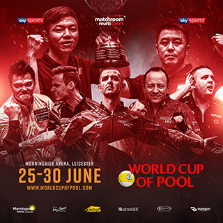 2019 World Cup of Pool Poster w320x320