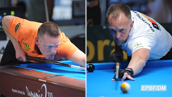 2019 Eurotour St. Johann im Pongau Open - Feijen took down Hohmann in a weird match
