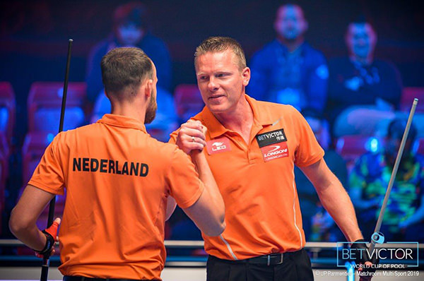 2019 World Cup of Pool - 0625 Team Holland