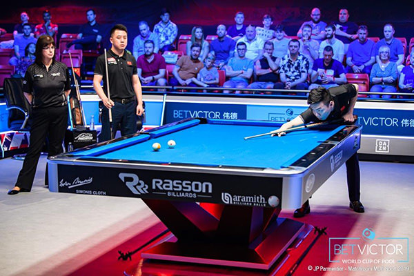 2019 World Cup of Pool - 0629 Team China