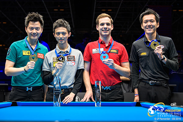2019 Predator World 10-Ball Championship - Top four