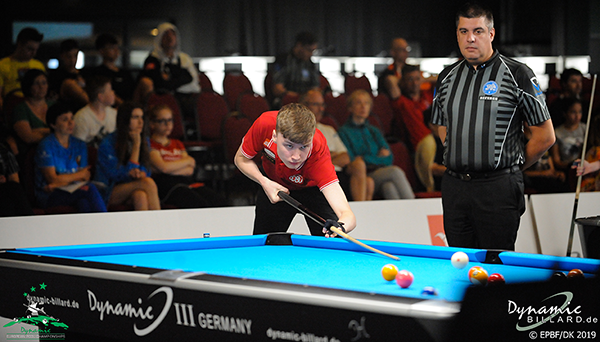2019 European Championships Youth - 9-ball U19 Christoffer Lentz