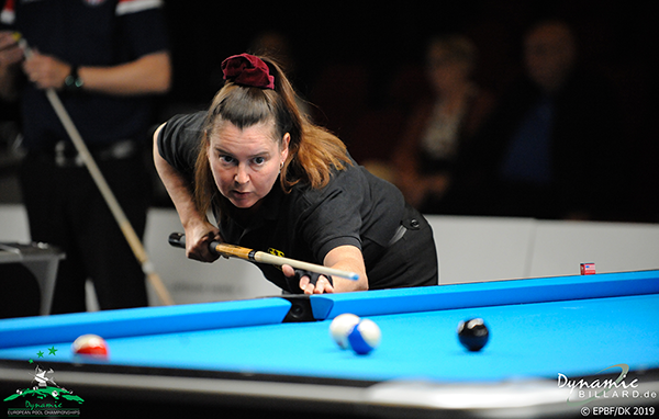 2019 European Championships Seniors & Ladies - 8-ball Anja Hehre (GER)