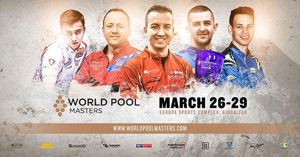 2020 World Pool Masters poster