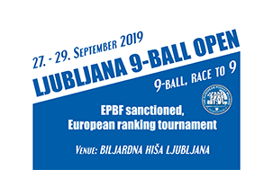 YouTube - 2019 Ljubljana 9-Ball Open w303