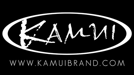 Kamui Brand Logo with Black background w450