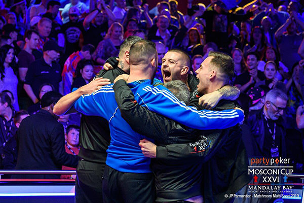 2019 Mosconi Cup XXVI - DAY 3 Team Europe