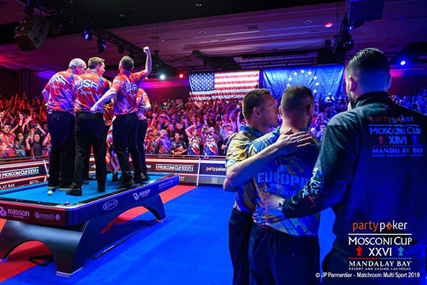 2019 Mosconi Cup XXVI - DAY 4Winning Moment 03